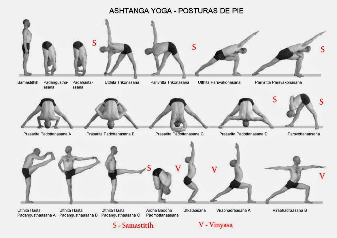 Standing Yoga Poses For Beginners Work Out Picture Media Ashtanga Vinyasa Yoga Ashtanga Yoga Yoga Postures