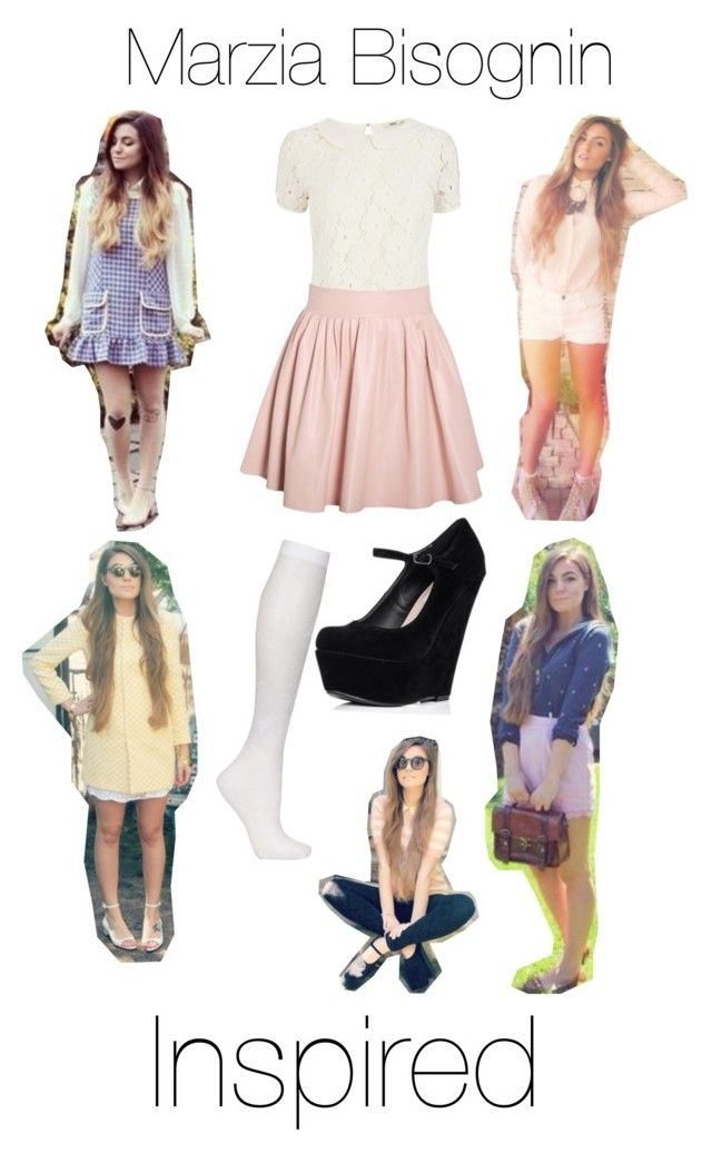 """""""Marzia Bisognin Inspired"""" by dream-big-flower ❤ liked on Polyvore featuring Oasis, Topshop and Cullen"""