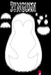 Pinguin Vorlage 4 in 2020   Vorlagen, Pinguine, Kinder ...