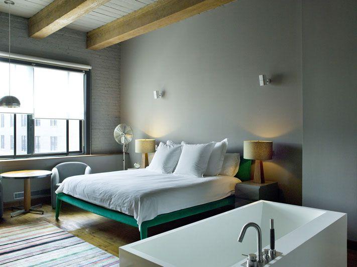Rustgevend blauwgrijs in slaapkamer chris tubbs kleurengekte