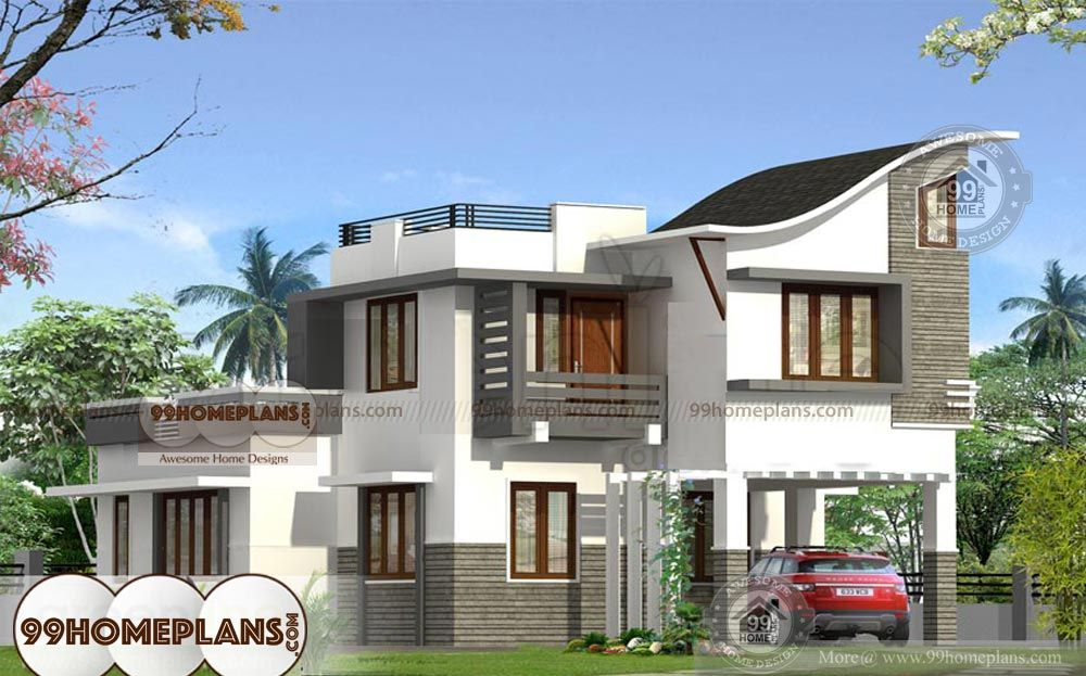 Double Story House Pictures Latest Home Plan Designs Best 2500 Sq Ft Kerala House Design Beautiful House Plans House Window Design