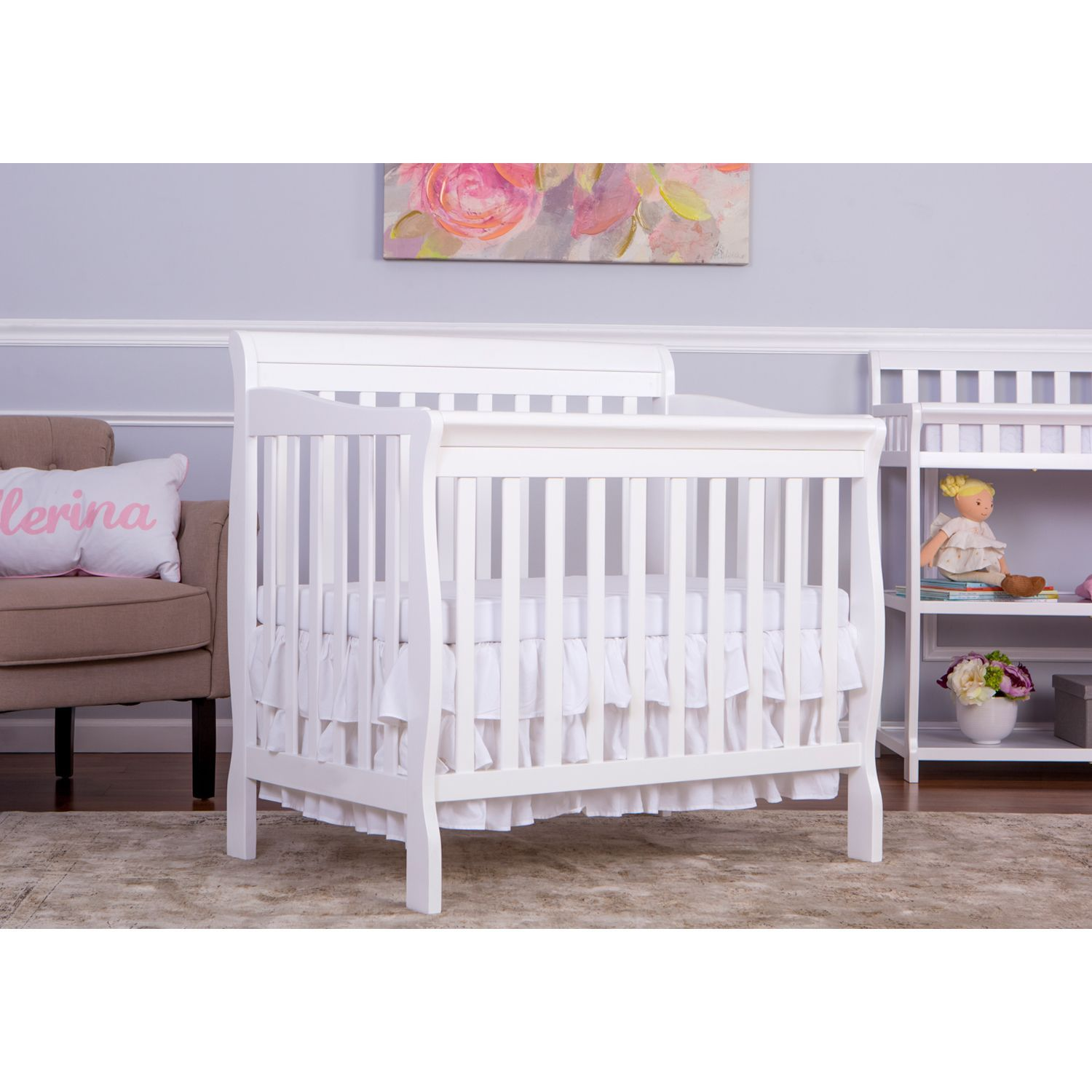 Overstock Com Online Shopping Bedding Furniture Electronics Jewelry Clothing More Mini Crib Cribs Twin Size Bed Frame
