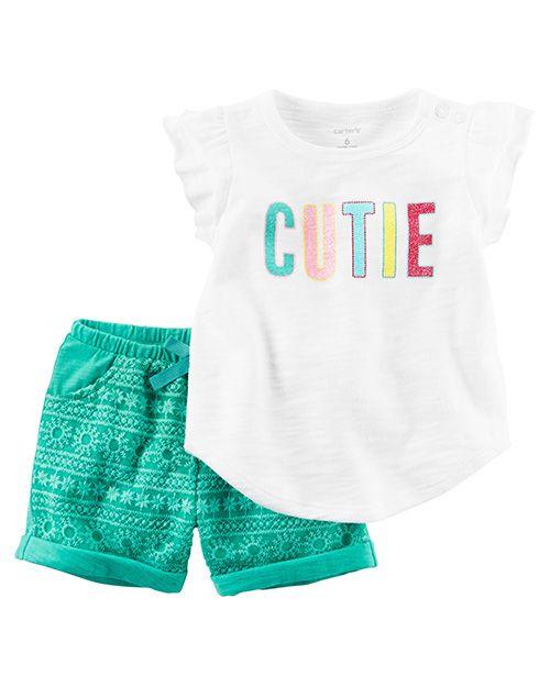 f71e536dc Moda primavera verano 2018 ropa para bebés. Carter s ropa para bebés  primavera verano 2018.