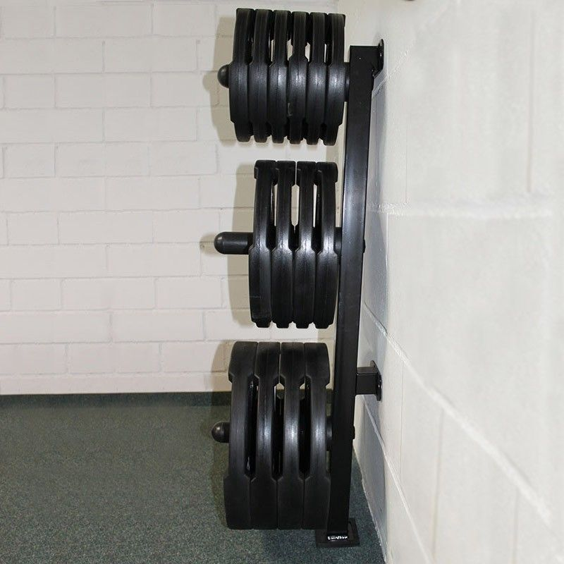 Wall-Mount Olympic Weights Tree