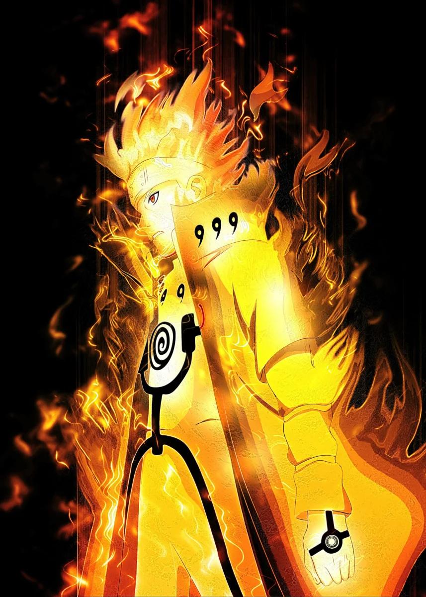 Naruto Poster By Brian John Displate Wallpaper Naruto Shippuden Naruto Uzumaki Art Cool Anime Wallpapers