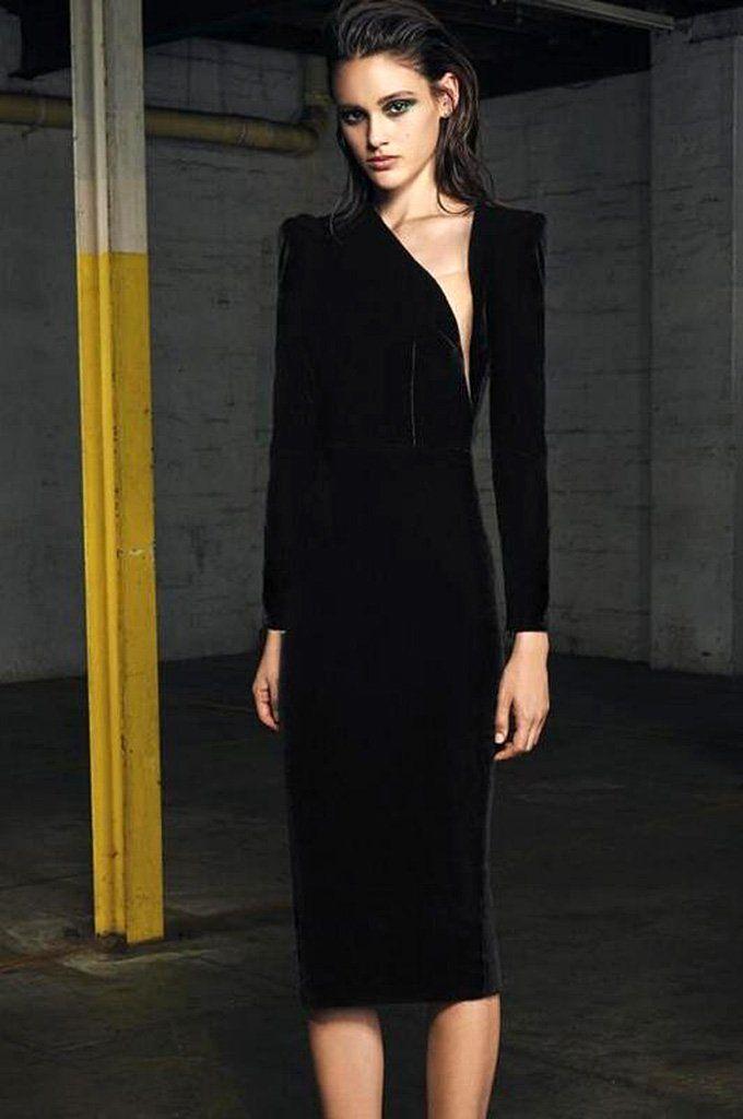 8965ef499ba4 SKU: CI4436H Dinner Party, Cocktail Party, Wedding, Club Dress Dresses  Length:Mid-Calf,Bandage-Style:Sexy & Club Sleeve Length(cm):Full ...