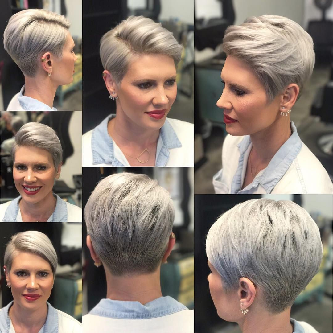 Best Short Hairstyles For Women Over 40 Chic Pixie Haircut Short Hair Styles Short Pixie Haircuts Womens Hairstyles