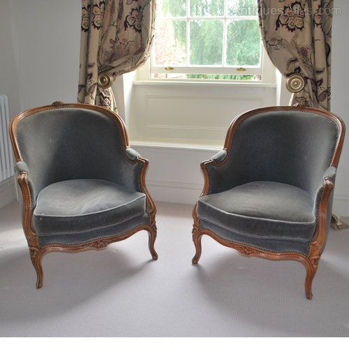 Pair of French antique tub chairs - Pair Of French Antique Tub Chairs Antique Chair Pinterest Tub