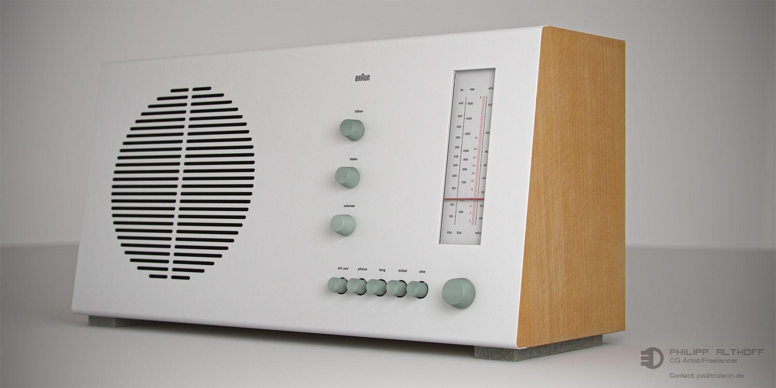 The Braun RT 20 radio is still gorgeous... | Mid-Century ...