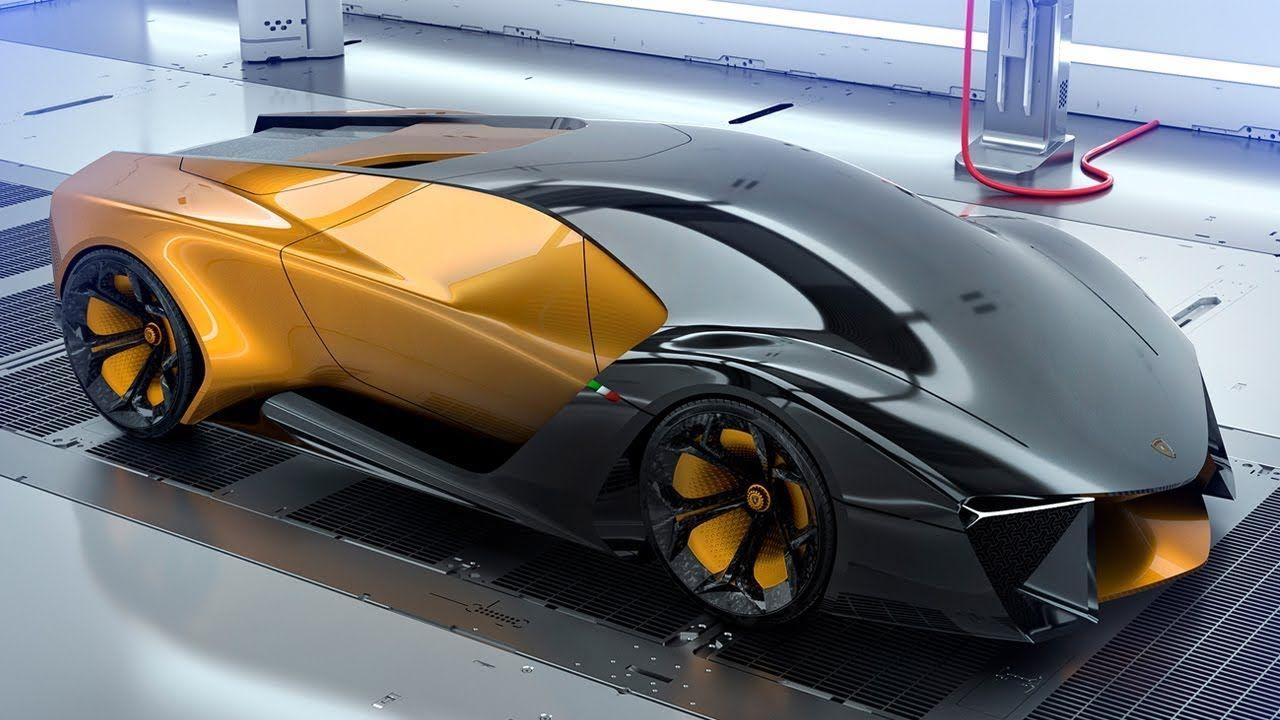 Lamborghini Belador Hybrid Supercar Concept Super Cars Lamborghini Concept Cars
