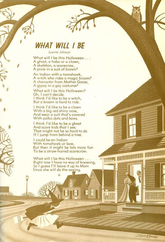 ideals magazine poem - Google Search | Halloween | Pinterest | Poem