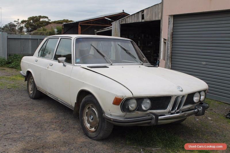 Cars 1974 BMW E3 3Os VINTAGE RETRO 30si BARN FIND 30CS Bmw