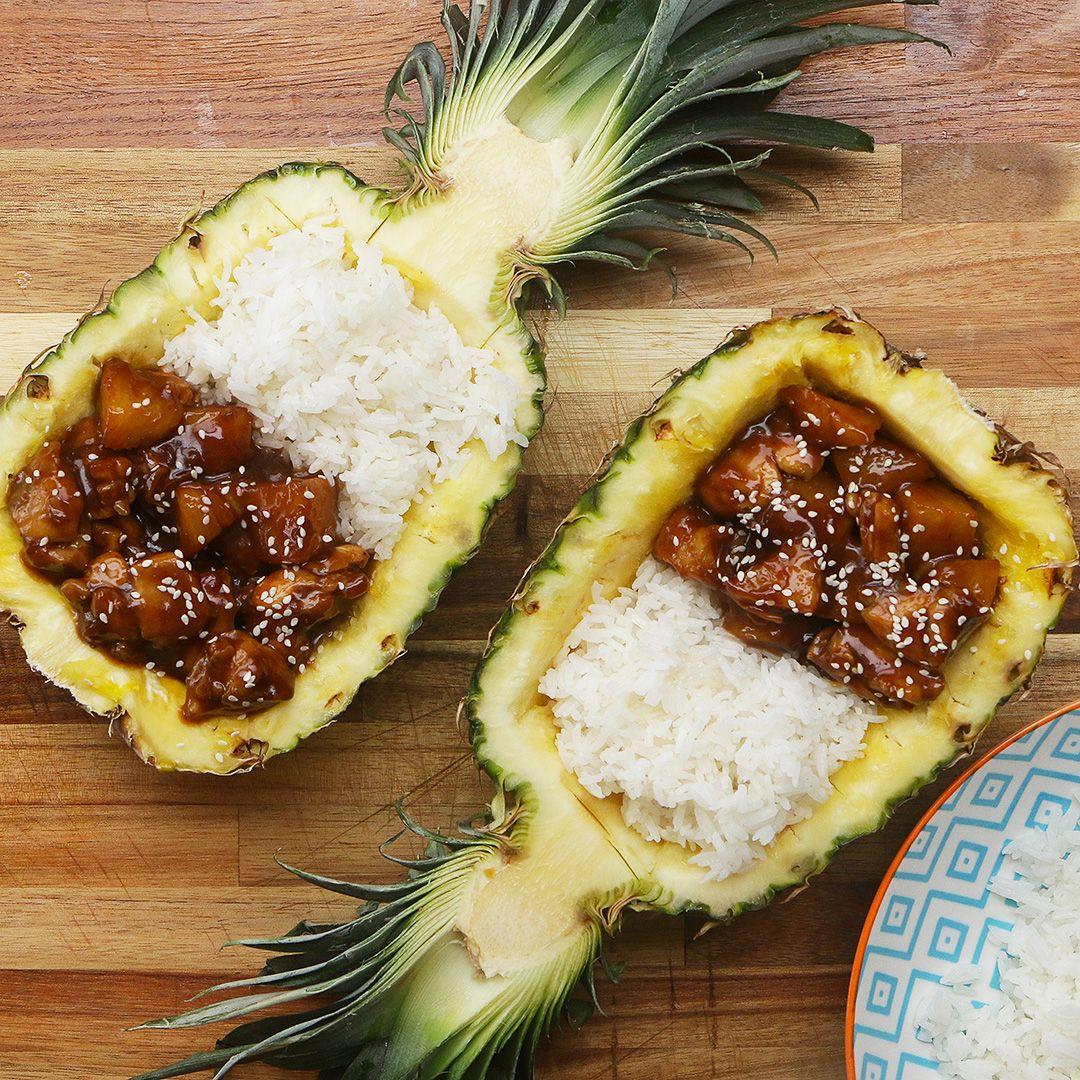Sticky Pineapple Chicken | Rezept | A Zitrone | Rezepte ...