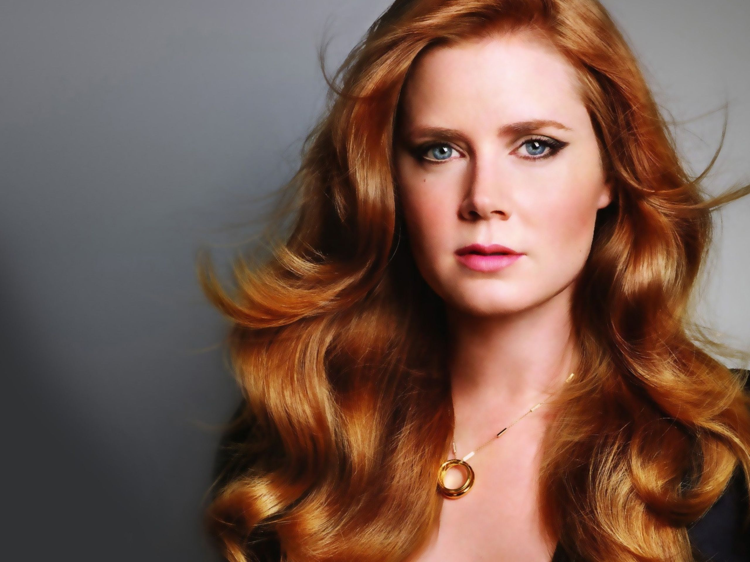 Women Blue Eyes Actress Redheads Amy Adams Faces Wallpaper Honey Blonde Hair Amy Adams Hair Hair Color Auburn