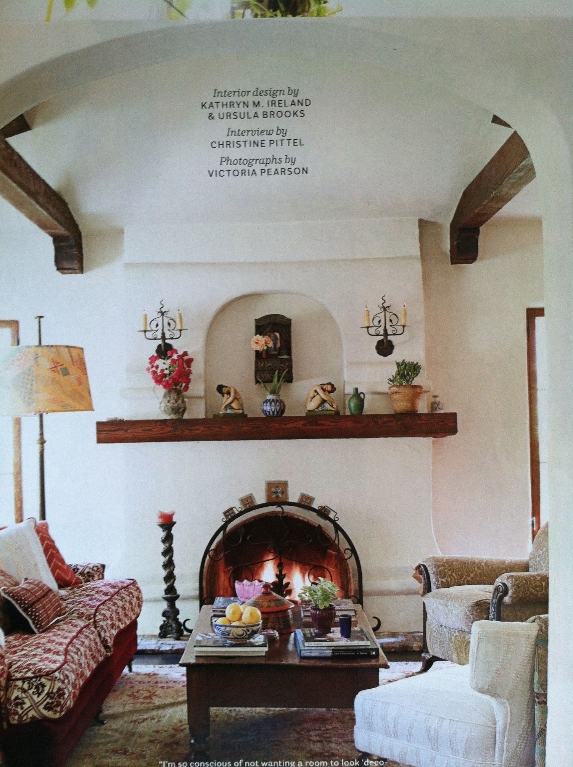 Fireplace surround living room pinterest fireplace for Spanish style fireplace