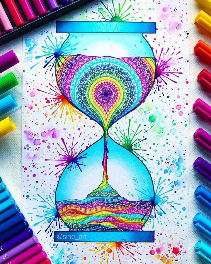 Photo of Mandala Drawings.