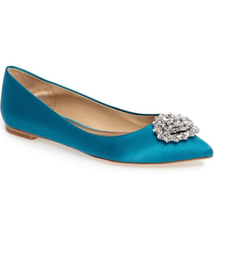 Bridal Shoes At Nordstrom: Badgley Mischka 'Davis' Crystal Embellished Pointy Toe