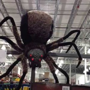 giant spider decorations for halloween