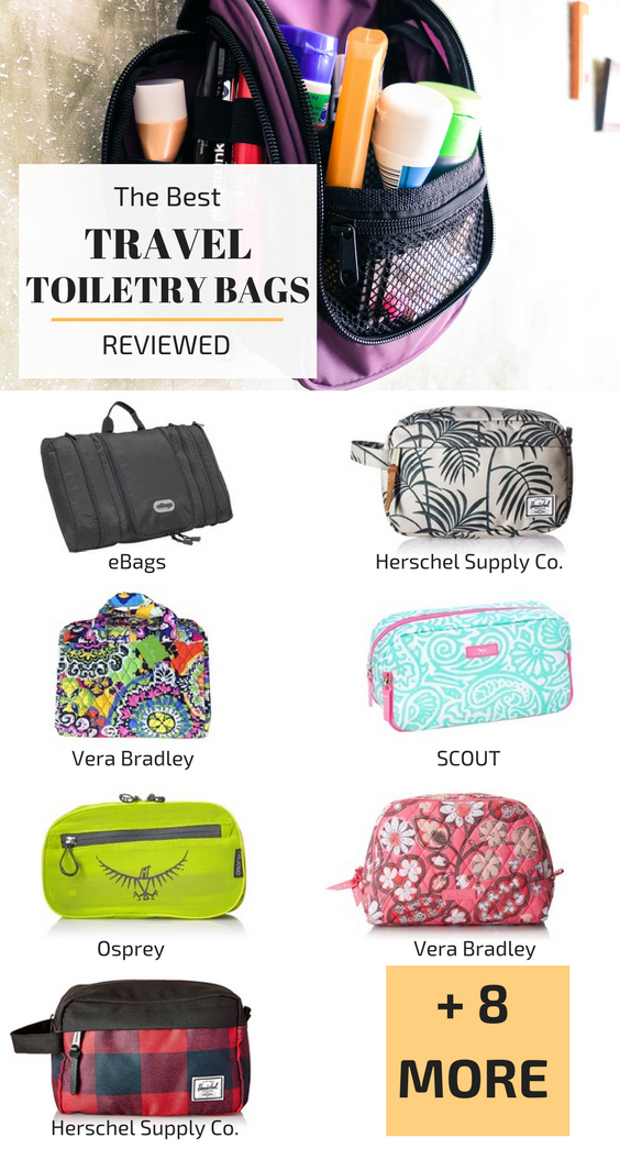 589c6e5a6a8e Best Travel Toiletry Bags 2019 : Comparison Chart   OUR TRAVEL TIPS ...