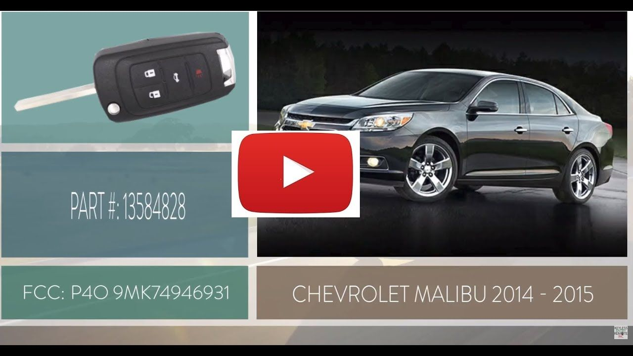 How To Replace A Chevrolet Malibu Key Fob Battery 2014 2015 Part