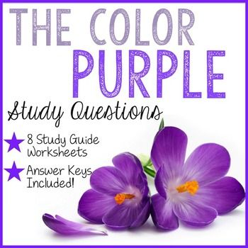 *This lesson can be found in the The Color Purple COMPLETE UNITIf you are teaching Alice Walker's The Color Purple in your…