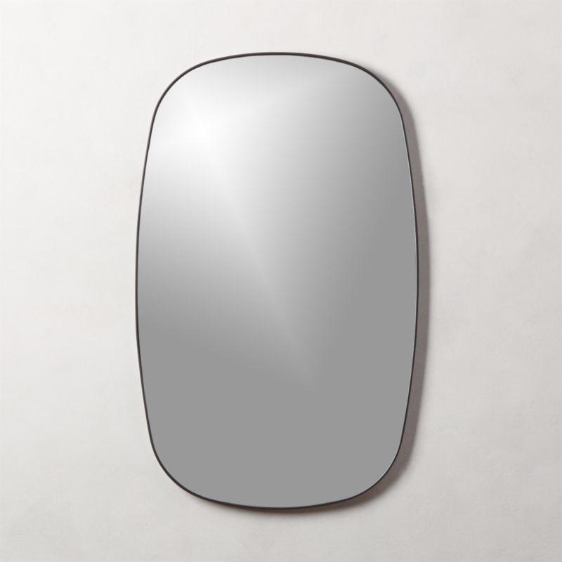 Infinity Black Oblong Wall Mirror Mirror Extruded Aluminum Diy Mirror
