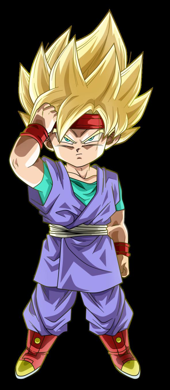 Goku Jr By Koku78 Deviantart Com On Deviantart Manga