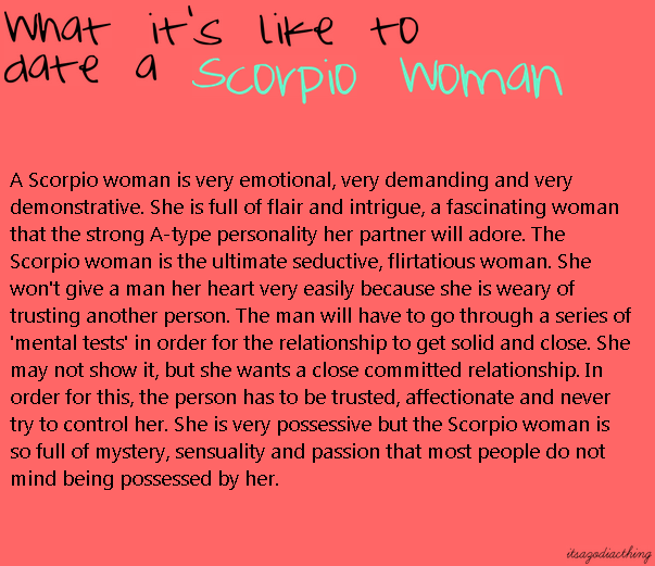 I Am A Scorpio Woman Dating A Scorpio Man