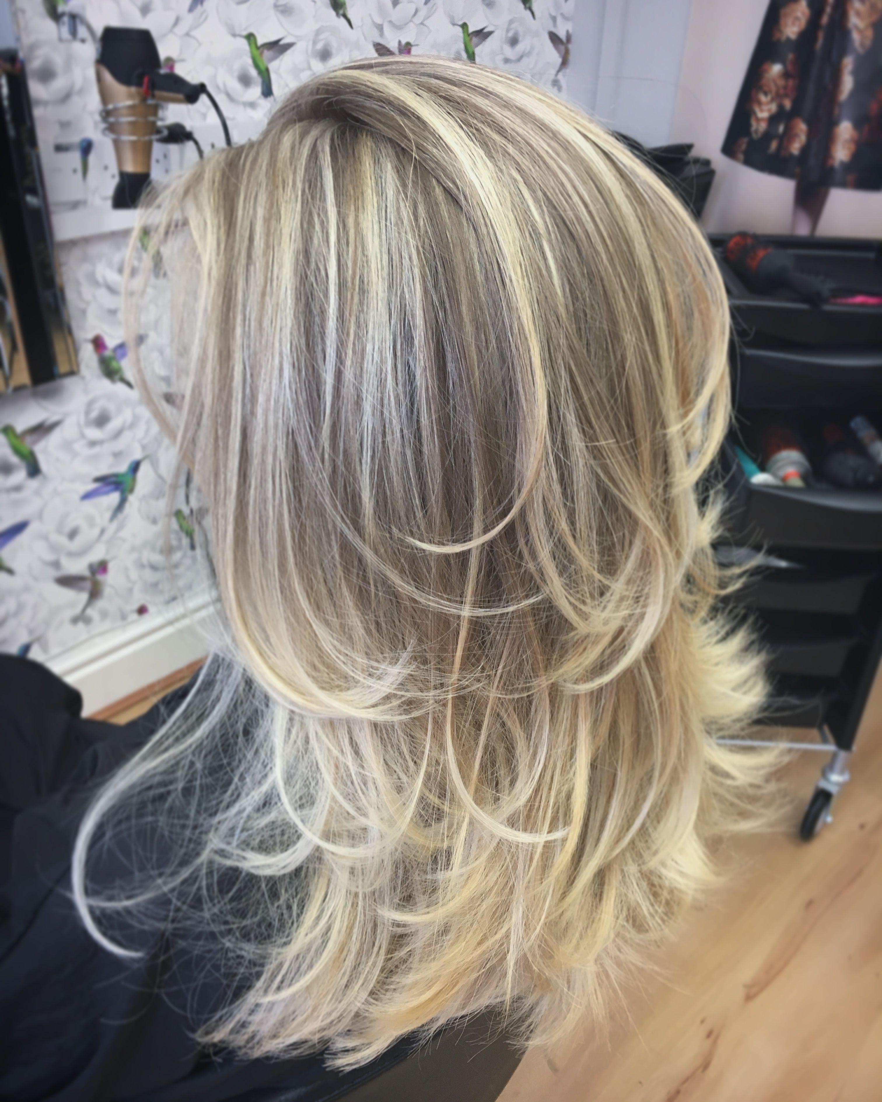 Long Layers Blonde Balayage Blonde Highlights Ash Blonde Layers Ombre Long Hair Styles Blonde Balayage Balayage Hair Caramel