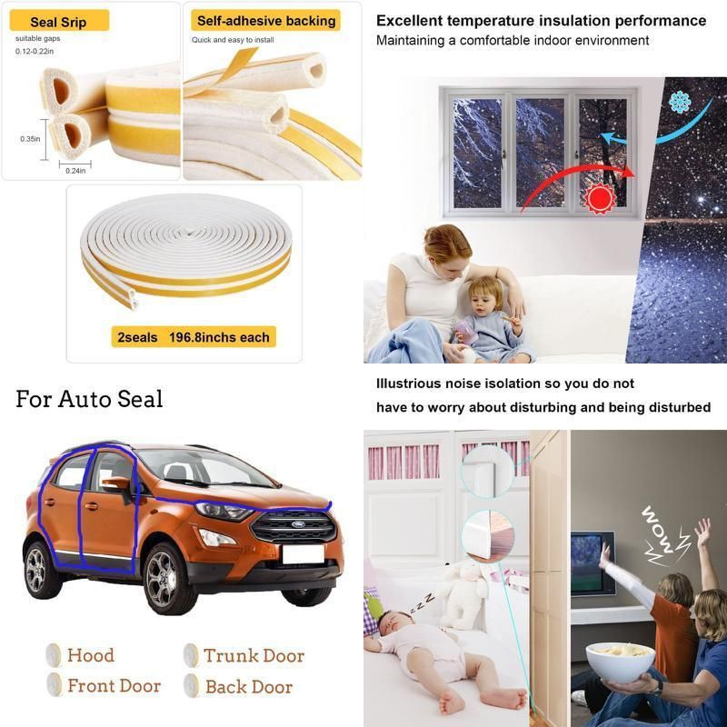Door window weather stripping seal strip car insulation kit door window weather stripping seal strip car insulation kit soundproofing winter publicscrutiny Choice Image