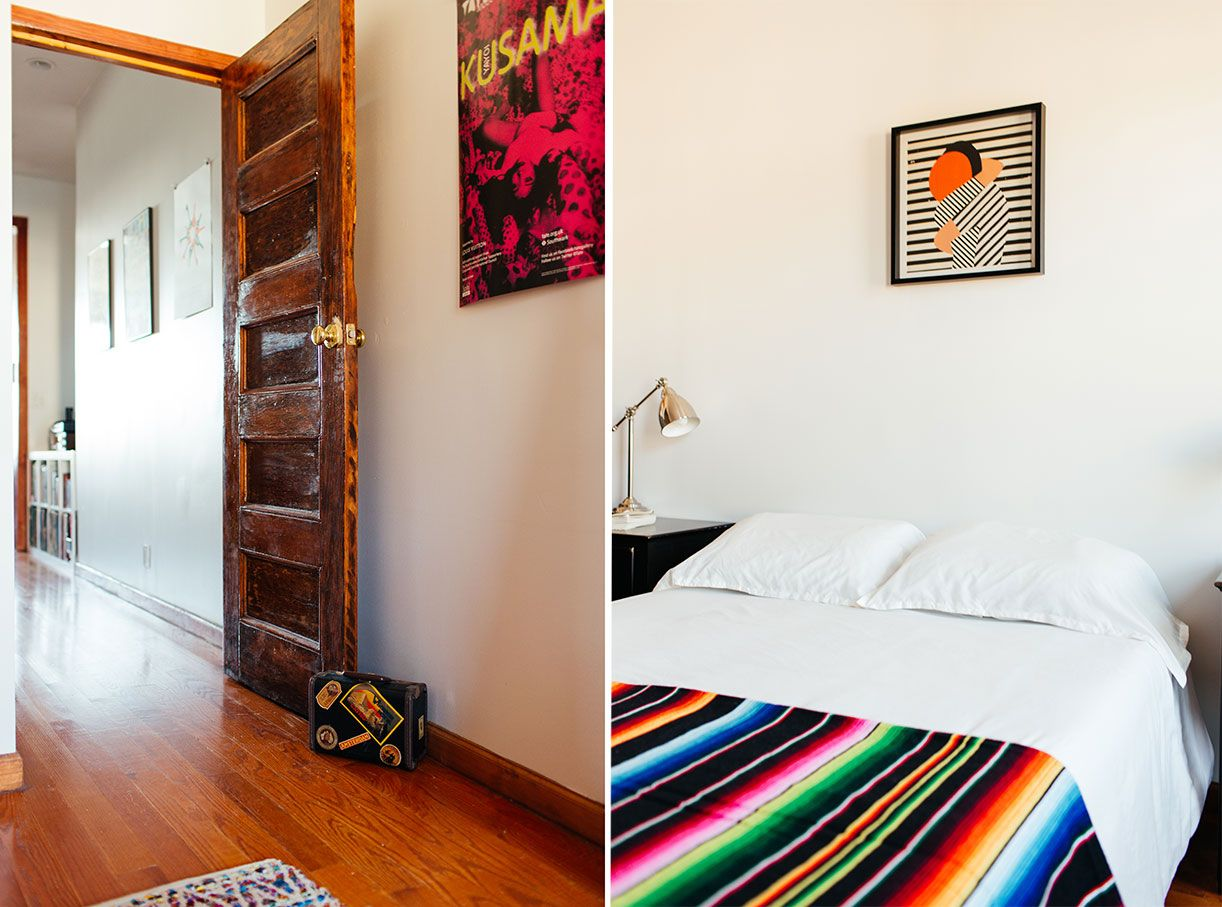 My 1 000sqft Tour A Newly Transplanted Couple S Bushwick Apartment Filled With Craigslist Finds