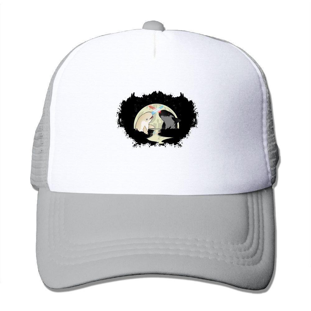 db197895163 Unisex Narwhal Sea Life Good Vibes Adjustable Mesh Hat Trucker Baseball  Cap. Narwhal Sea Life