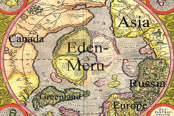 One Step Closer To Discovering The Entrance To The Mythical Land Of  Hyperborea? | Earth map, Flat earth, Ancient maps