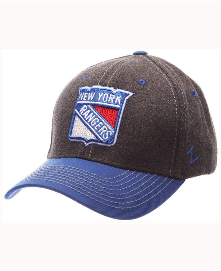 e7edafc2f7ce5b Zephyr New York Rangers Anchorage Snapback Cap   Products in 2018 ...