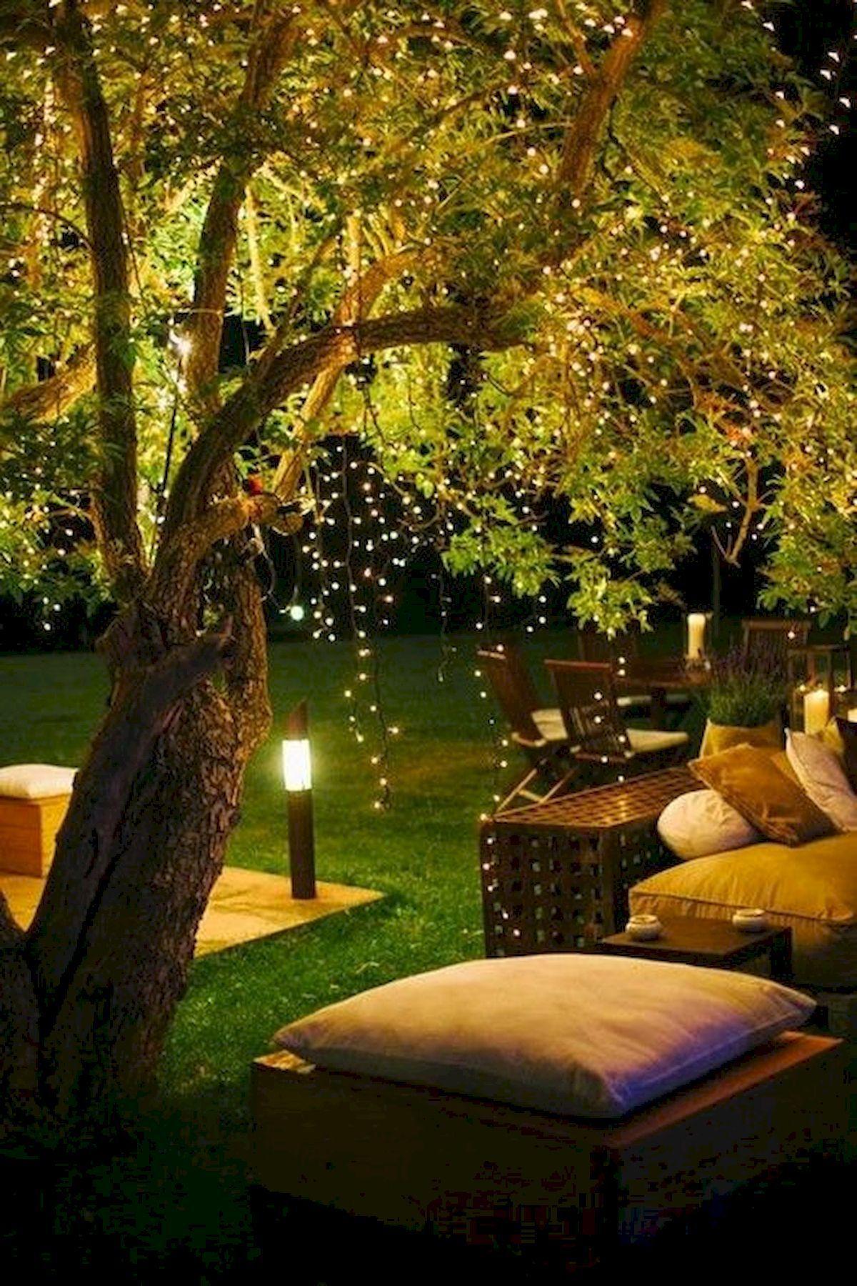 7 Marvelous Garden Lighting Ideas That Liven Up Your Outdoor Area Momo Zain In 2020 Garden Lighting Design Outdoor Decorative Lights Backyard Trees