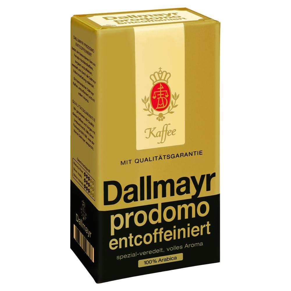 Dallmayr prodomo decaffeinated ground coffee coffee