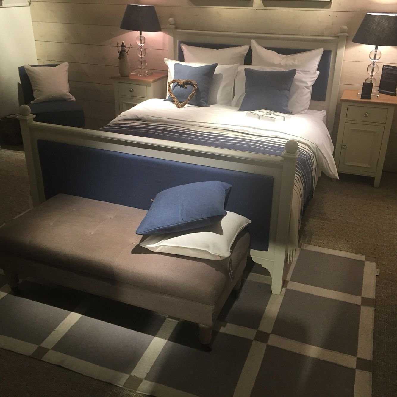 Browsers Showroom Neptune Blakeney Blue Fabric On Neptune Chichester Bed Browsers Ie With