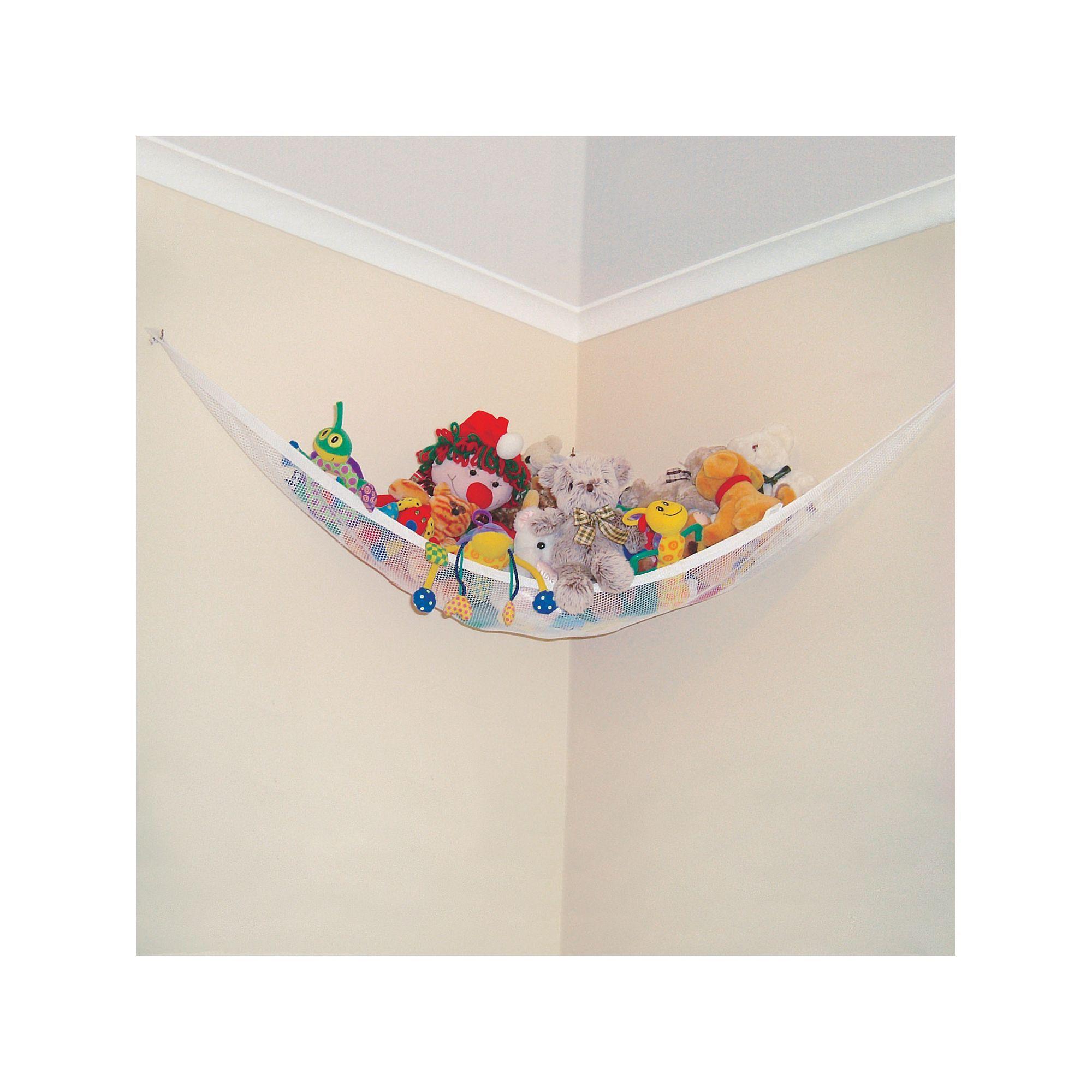 ... Huijukon Toy Hammocks Jumbo Hammock Corner Cuddly Storage Net Organiser