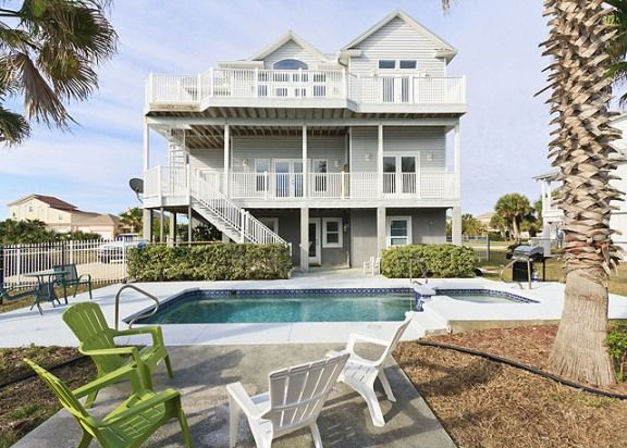 Daytona Beach House Rental Beach House Style - Daytona beach oceanfront house rentals
