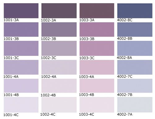 The inside man james 39 treehouse bedroom paint colors - Lavender paint color schemes ...