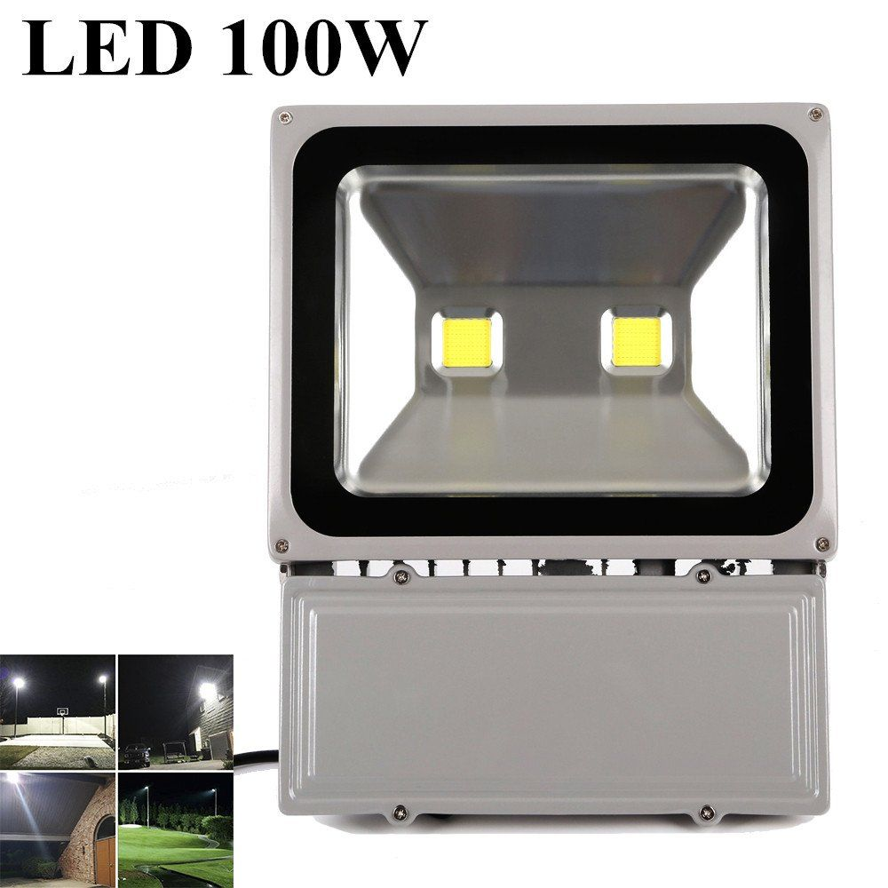 Halloween Celebration Decoration Richday 100w 8000lm Waterproof Led Flood Light 110v 900w Halogen Bulb Equivalent 6500k Led Flood Lights Led Bulbs For Sale