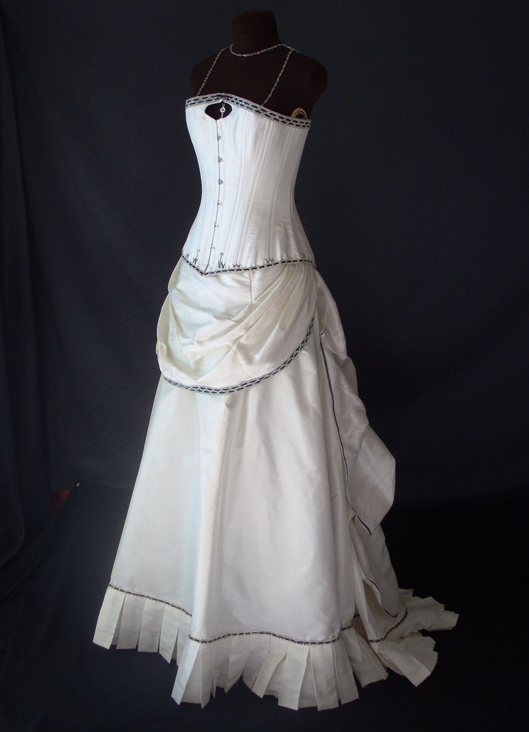 Steampunk Wedding Gown #Steampunk Wedding ... Wedding ideas for ...