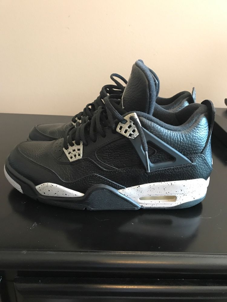 air jordan retro oreo 4 brand new never touched outside no box SIZE 8100%   fashion  clothing  shoes  accessories  mensshoes  athleticshoes (ebay link) 18e67ba6c