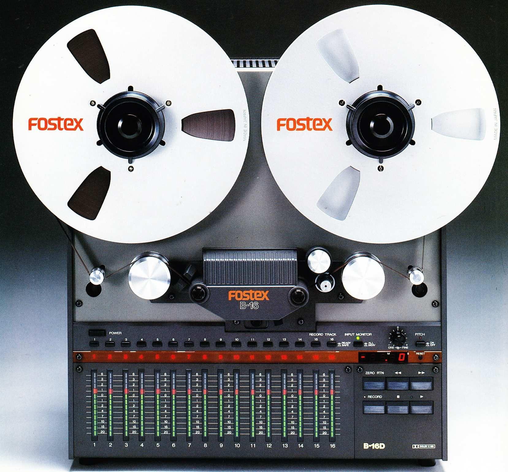 Ahhh The Fostex B16 Cheap 16 Tracks But Very Popular I