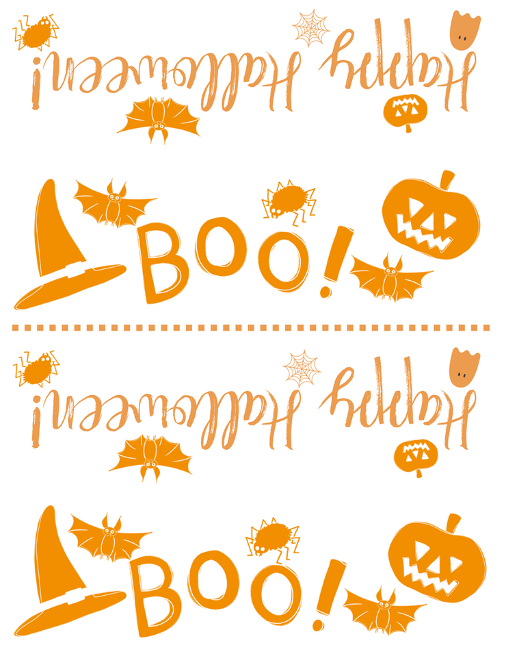 image relating to Free Printable Halloween referred to as Totally free Printable Halloween Deal with Bag Topper Halloween Designs