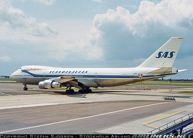 Photos Boeing 747 283b Aircraft Pictures Airliners Net Boeing 747 Boeing Scandinavian Airlines System