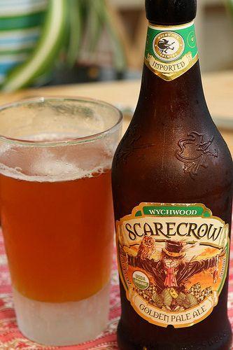 Scarecrow beer - the cousin of Hobgoblin!