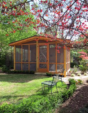 Outdoor Screened Rooms Design Ideas Pictures Remodel And Decor
