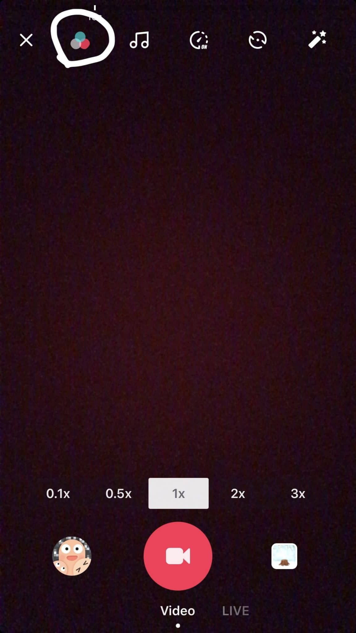 How To Use Color Filters On Tiktok To Enhance Your Tiktok Video Quality Pengeditan Foto Gambar