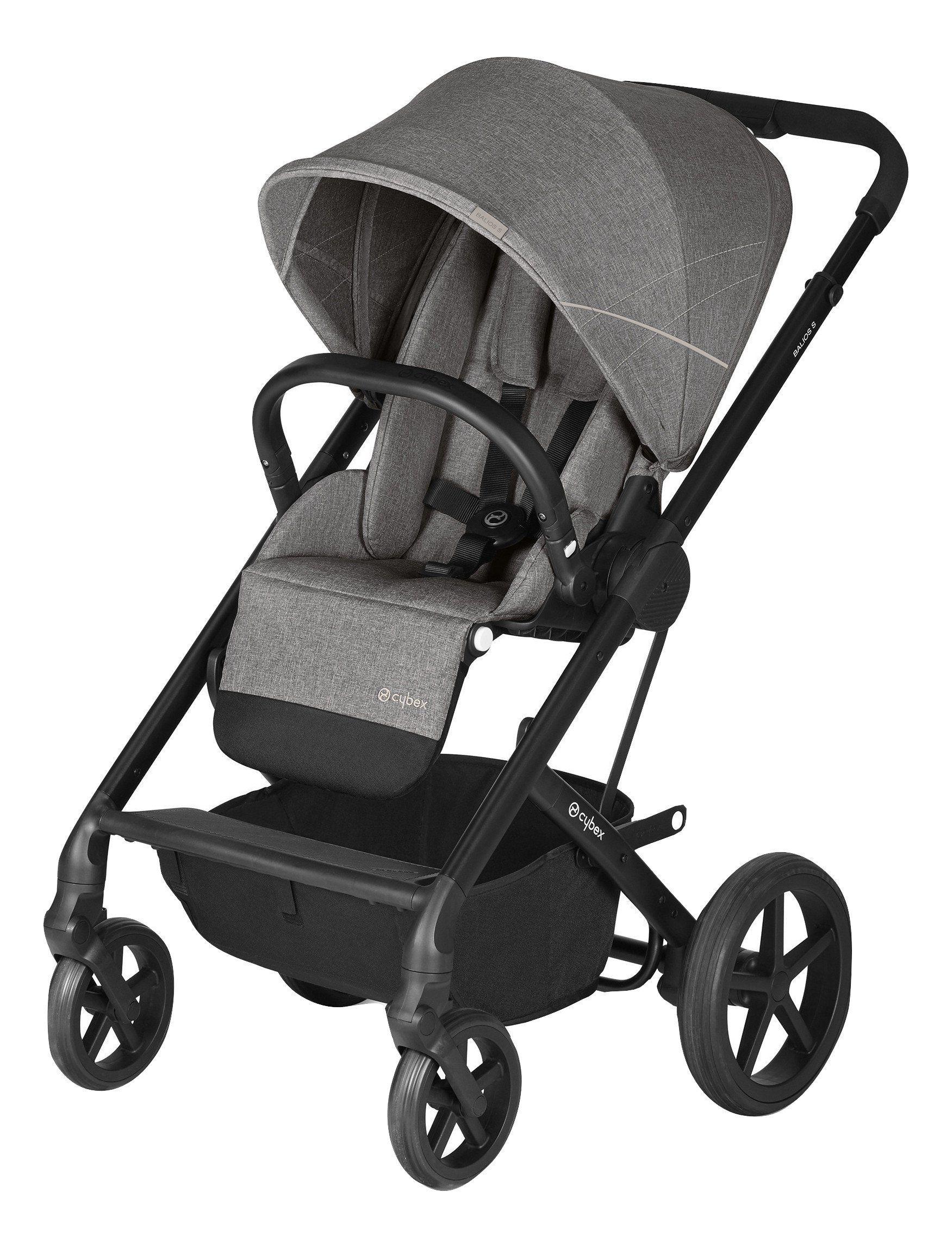Cybex Balios S (Manhattan Grey) stroller baby parents